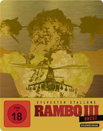 Rambo 3 (1988) (Limited Edition, Steelbook, Uncut)