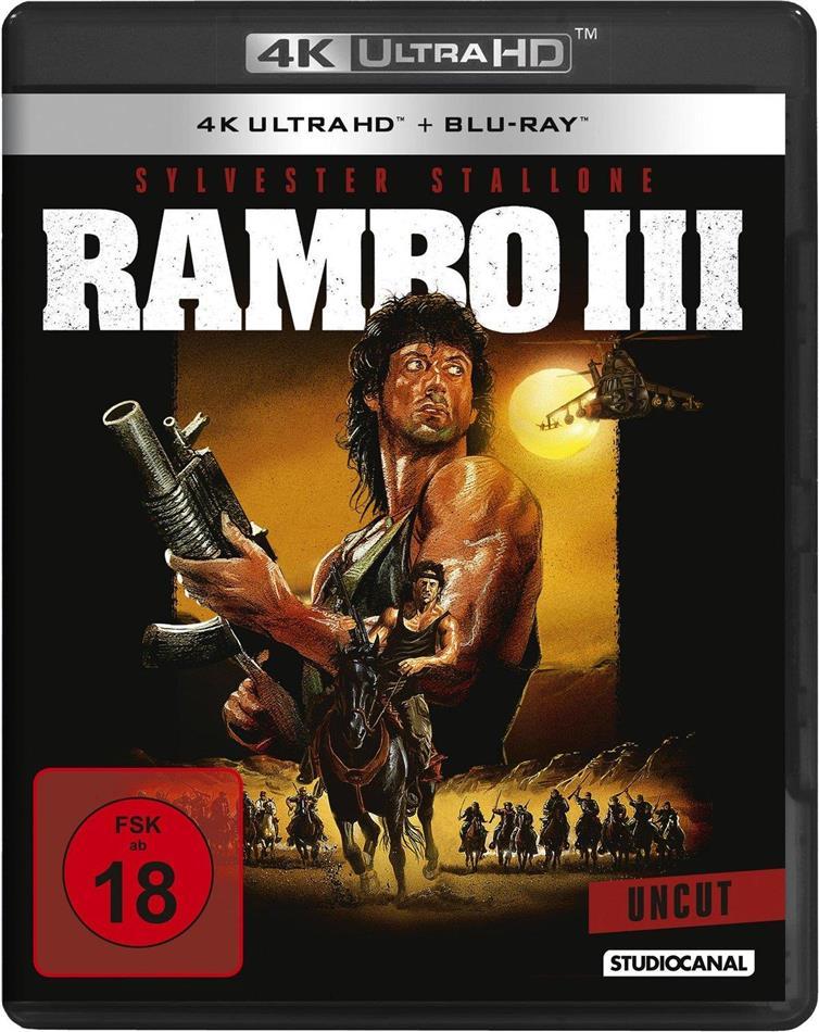 Rambo 3 (1988) (Uncut, 4K Ultra HD + Blu-ray)