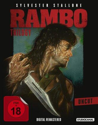 Rambo Trilogy (Uncut, 3 Blu-rays)
