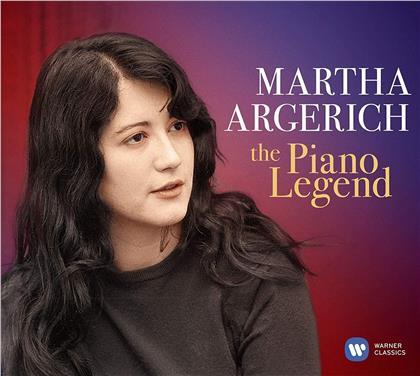 Martha Argerich, Frédéric Chopin (1810-1849), Felix Mendelssohn-Bartholdy (1809-1847) & Johann Sebastian Bach (1685-1750) - Piano Legend (2 CDs)