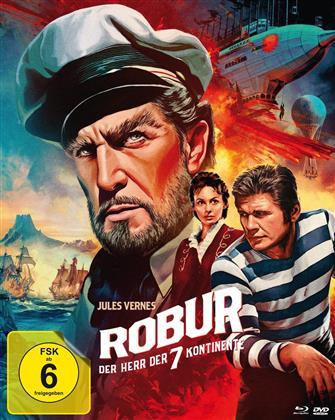 Robur - Der Herr der sieben Kontinente (1961) (Version A, Mediabook, Blu-ray + DVD)