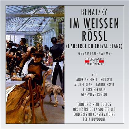 Ralph Benatzky, Felix Nuvolone, Andrine Forli, Michel Galabru & Orchestre de la Societe des Concerts du Conservatoire - Im Weissen Rössl - Französisch - 1962 Live in Paris (2 CDs)