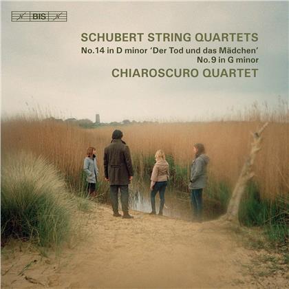 Chiaroscuro Quartet & Franz Schubert (1797-1828) - Streichquartette Nr. 14, Nr. 9 (SACD)