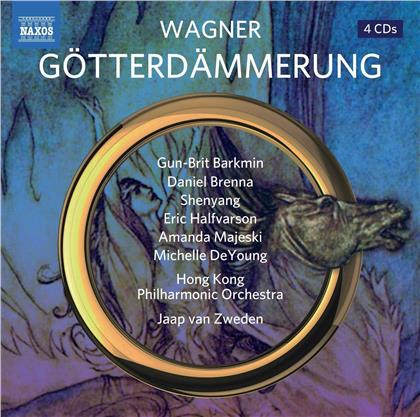 Gun-Brit Barkmin, Daniel Brenna, Eric Halfvarson, Shenyang, Richard Wagner (1813-1883), … - Götterdämmerung (4 CDs)