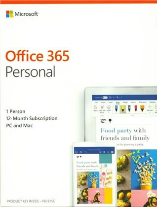 Office 365 Personal [1PC] 1 Year Subscription
