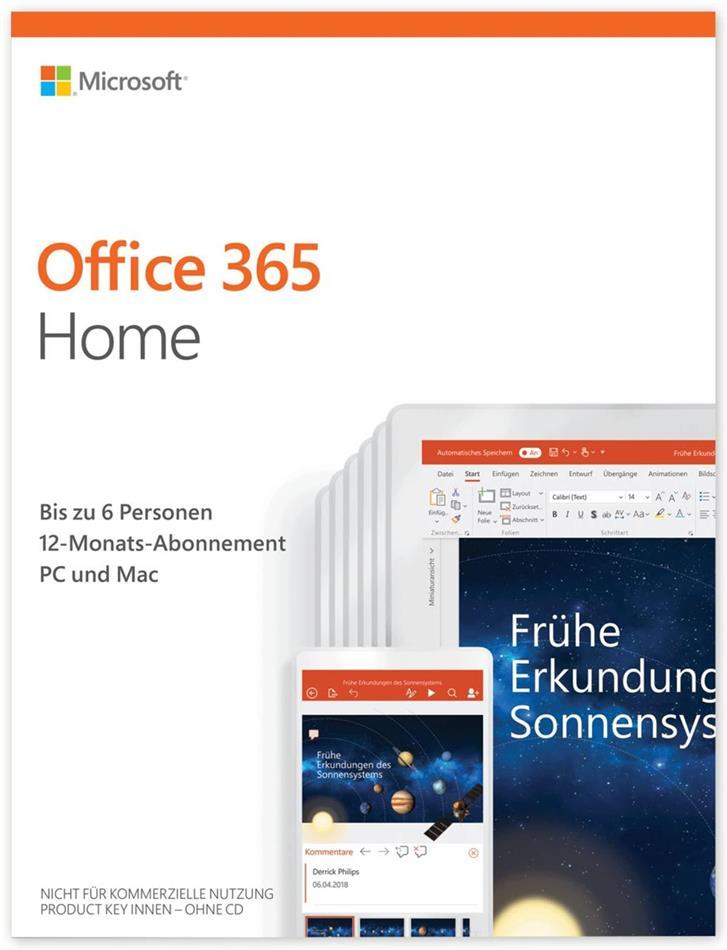 Office 365 Home [1PC] 1 Jahr Abonnement