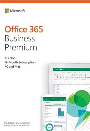 Office 365 Bus Prem Retail [1PC] 1 Year Subscription