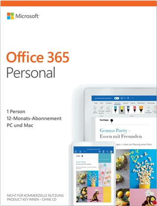 Office 365 Personal [1PC] 1 Jahr Abonnement