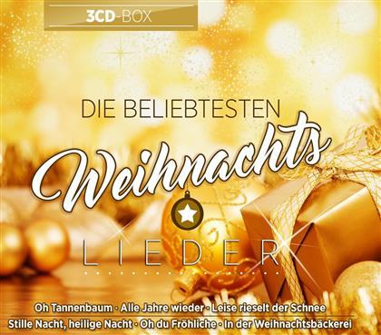 Die beliebtesten Weihnachtslieder (3 CDs)