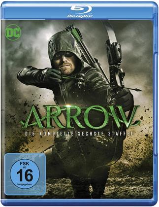 Arrow - Staffel 6 (4 Blu-rays)