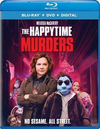 The Happytime Murders (2018) (Blu-ray + DVD)