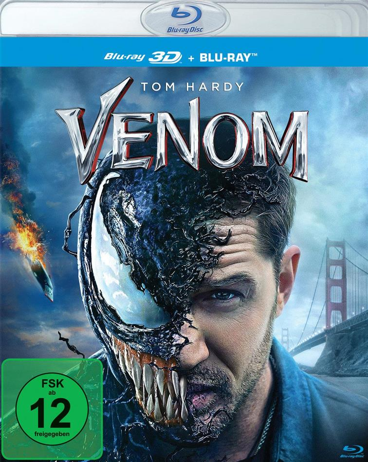 Venom (2018) (Blu-ray 3D + Blu-ray)