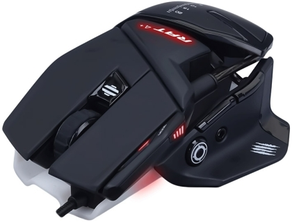 MadCatz R.A.T. 4+ Optical Gaming Mouse - Black