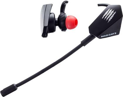 MadCatz E.S. Pro+ Gaming Earbuds - Black