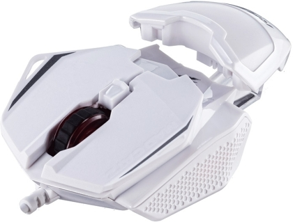 MadCatz R.A.T. 1+ Optical Gaming Mouse - White