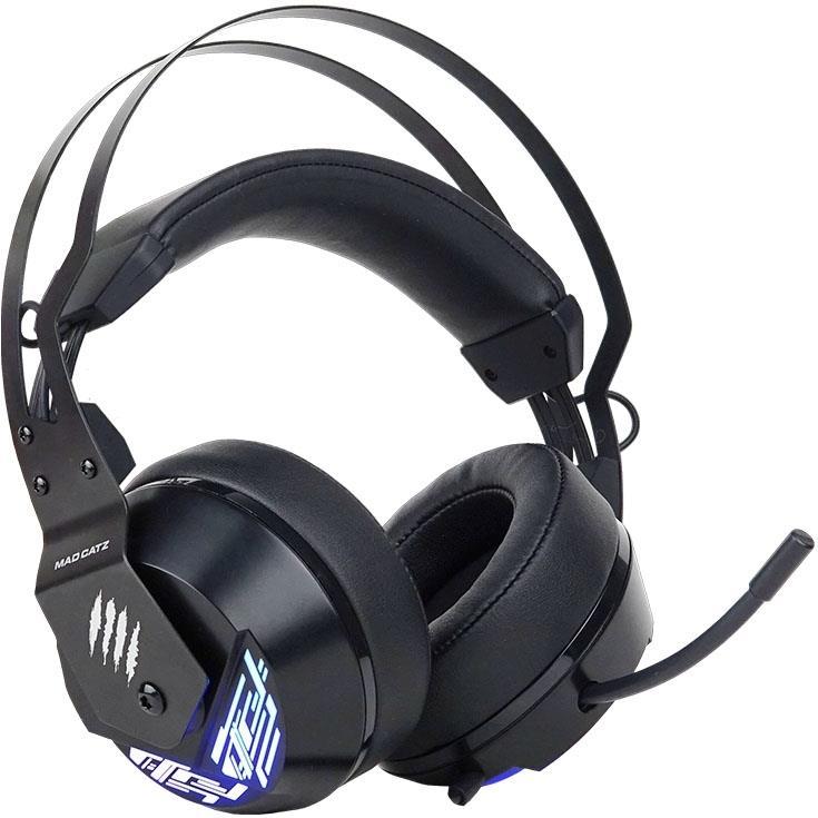 MadCatz F.R.E.Q. 4 Stereo Gaming Headset - Black