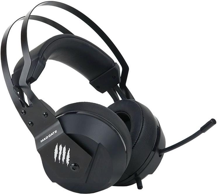 MadCatz F.R.E.Q. 2 Stereo Gaming Headset - Black