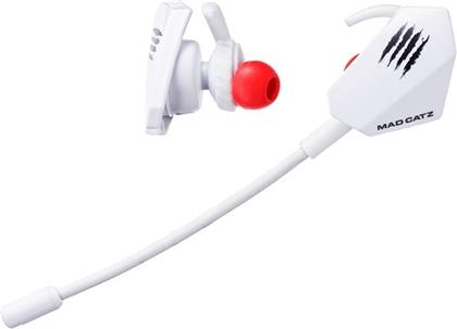 MadCatz E.S. Pro+ Gaming Earbuds - White