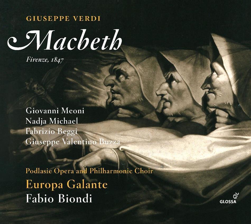 Giovanni Meoni, Nadja Michael, Fabrizio Beggi, Fabio Biondi & Giuseppe Verdi (1813-1901) - Macbeth