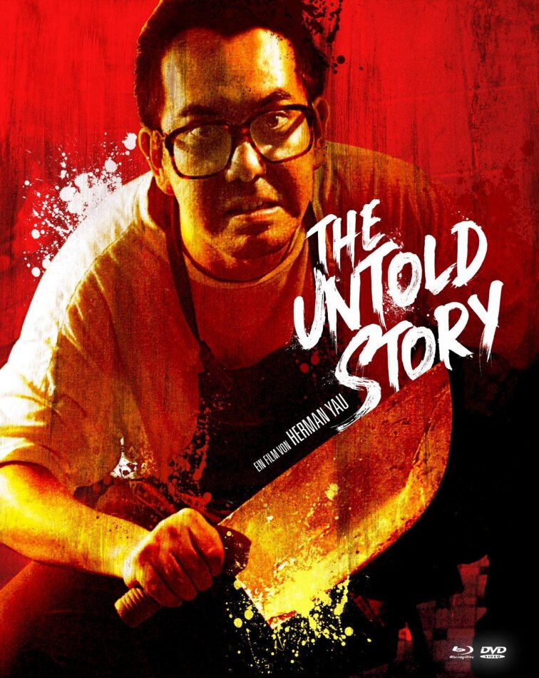 The Untold Story (1993) (Cover B, Limited Edition, Mediabook, Uncut, Blu-ray + 2 DVDs)
