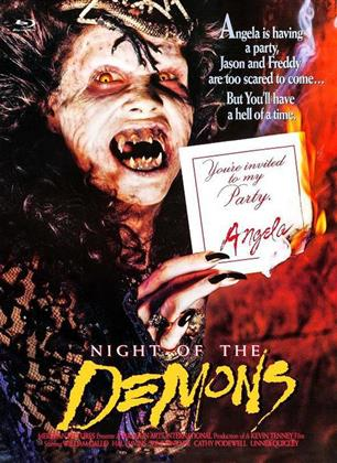Night of the Demons (1988) (Cover C, Limited Edition, Mediabook, Uncut, Blu-ray + DVD)
