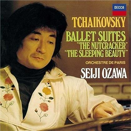 Orchestre de Paris, Peter Iljitsch Tschaikowsky (1840-1893) & Seiji Ozawa - Ballet Suites / The Nutcracker & Sleeping Beauty - Nussknacker / Dornröschen (UHQCD, MQA CD)