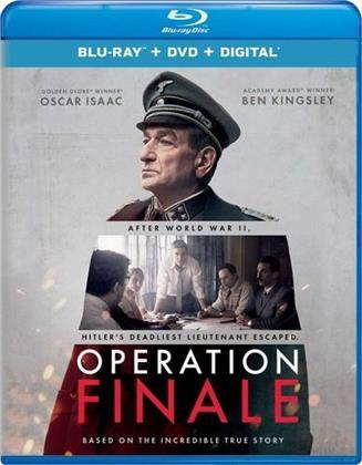 Operation Finale (2018) (Blu-ray + DVD)