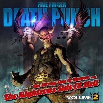 Five Finger Death Punch - Wrong Side Of Heaven & Righteous Side Of Hell - Vol. 2 (2018 Reissue, LP)