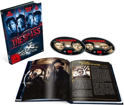 Trespass - Falsche Zeit. Falscher Ort (1992) (Cover A, Limited Edition, Mediabook, Blu-ray + DVD)