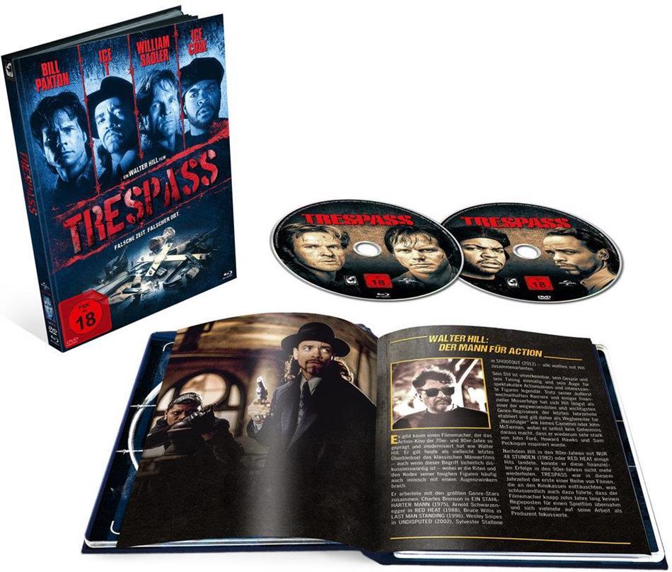 Trespass - Falsche Zeit. Falscher Ort (1992) (Cover A, Limited Edition, Mediabook, Blu-ray + DVD)