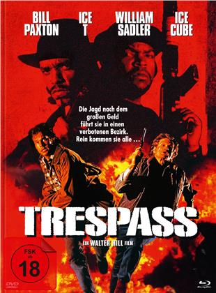 Trespass - Falsche Zeit. Falscher Ort (1992) (Cover B, Limited Edition, Mediabook, Blu-ray + DVD)