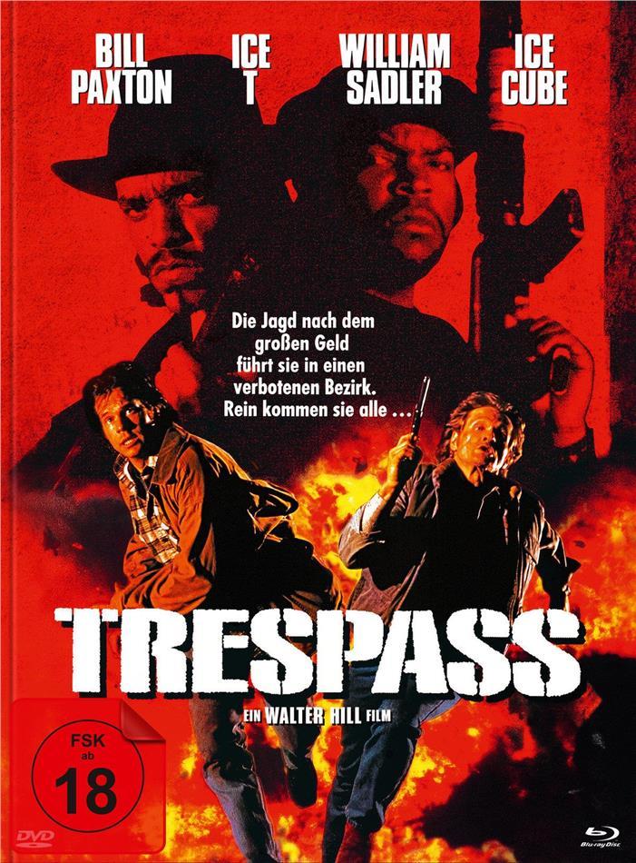 Trespass - Falsche Zeit. Falscher Ort (1992) (Cover B, Limited Edition, Mediabook, Blu-ray + DVD)