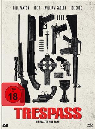 Trespass - Falsche Zeit. Falscher Ort (1992) (Cover C, Limited Edition, Mediabook, Blu-ray + DVD)