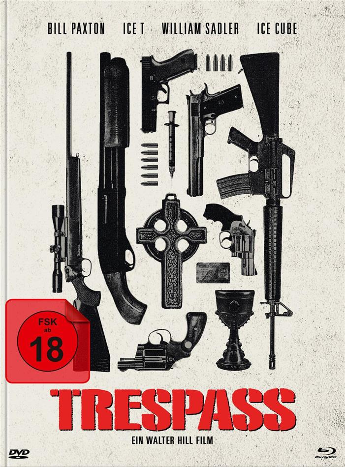 Trespass - Falsche Zeit. Falscher Ort (1992) (Cover C, Limited Edition, Mediabook, Blu-ray + DVD)