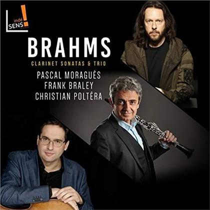 Pascal Moragues, Frank Braley, Christian Poltera & Johannes Brahms (1833-1897) - Clarinet sonatas and trio