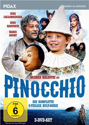 Pinocchio - Die komplette Serie (Pidax Serien-Klassiker, 3 DVDs)