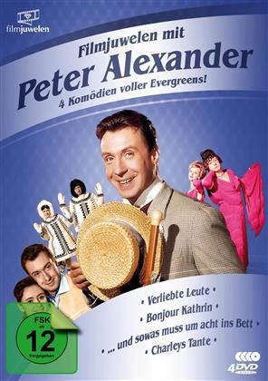 Filmjuwelen mit Peter Alexander - 4 Komödien voller Evergreens! (4 DVDs)