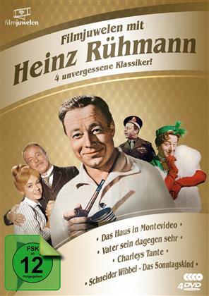 Filmjuwelen mit Heinz Rühmann - 4 unvergessene Klassiker! (4 DVDs)