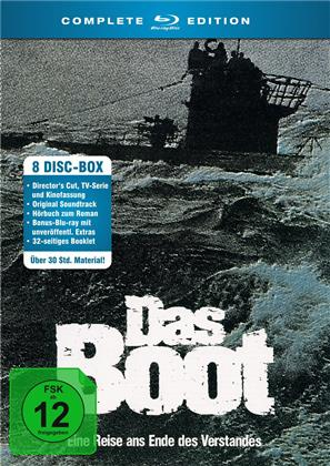 Das Boot - Complete Edition (Director's Cut, Cinema Version, 5 Blu-rays + CD + 2 Audiobooks)