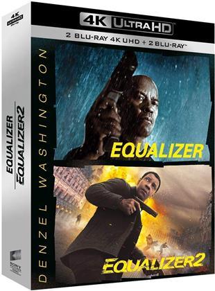 Equalizer / Equalizer 2 (2 4K Ultra HDs + 2 Blu-ray)