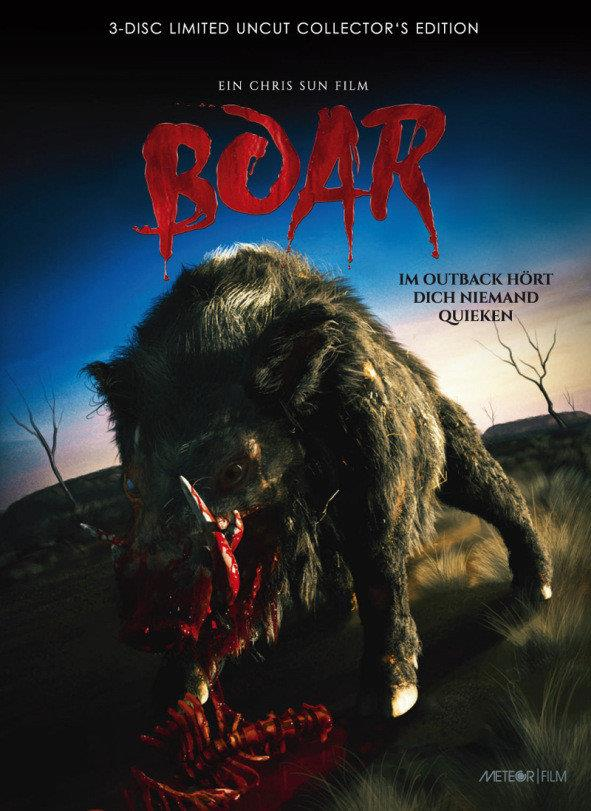 Boar (2017) (Cover C, Collector's Edition, Limited Edition, Mediabook, Uncut, Blu-ray + 2 DVDs)