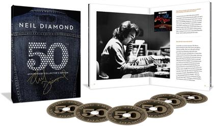 Neil Diamond - Career Box (50th Anniversary Collector's Edition, 6 CDs)