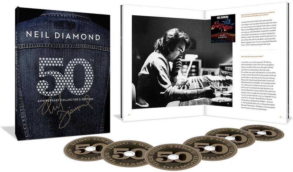 Neil Diamond - Career Box (50th Anniversary Collector's Edition, 6 CDs)
