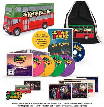 Kelly Family - We Got Love - Live At Loreley (Limited Fanbox, 3 CDs + 2 DVDs)