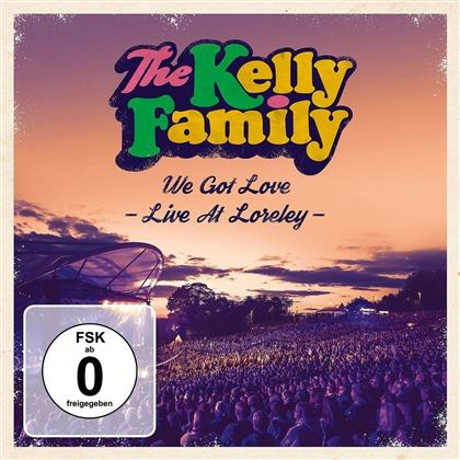 Kelly Family - We Got Love - Live At Loreley (2 CDs)