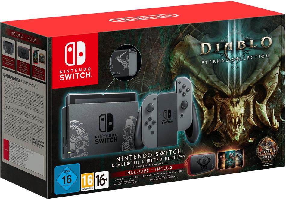 Nintendo Switch Diablo III (Limited Edition)