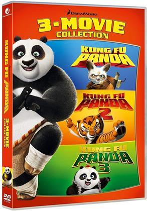Kung Fu Panda 1-3 - Collezione 3 Film (3 DVDs)