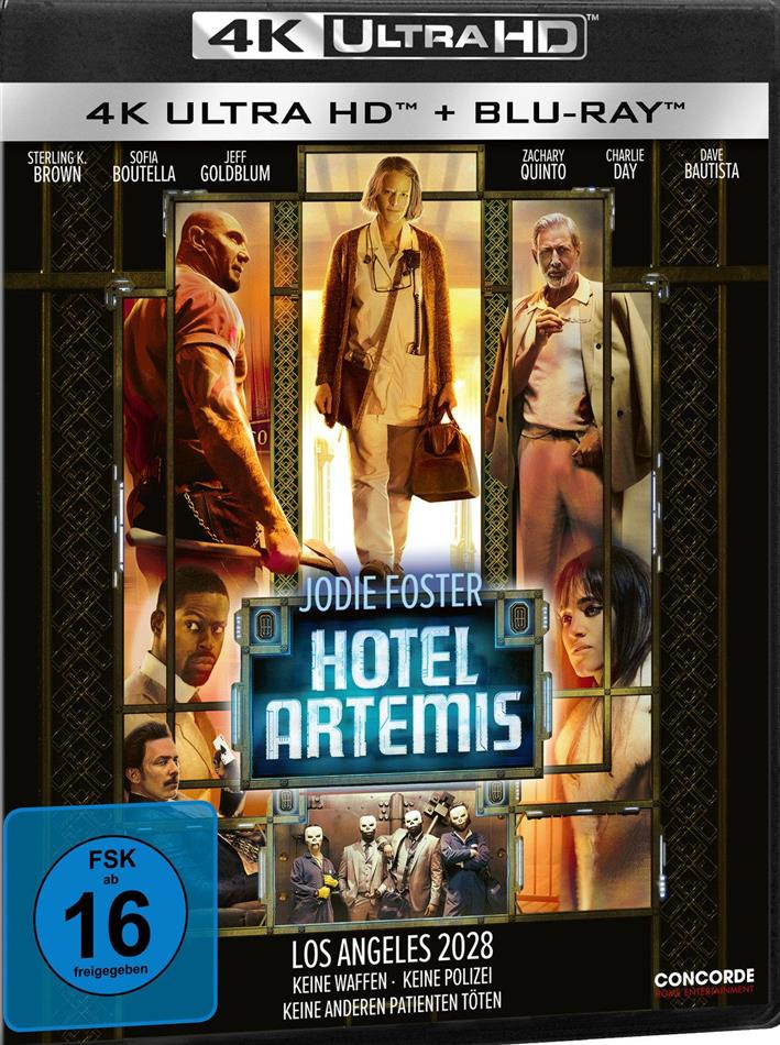 Hotel Artemis (2018) (4K Ultra HD + Blu-ray)