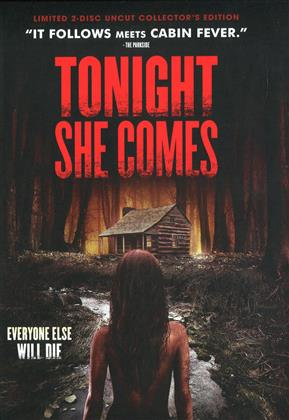 Tonight She Comes (2016) (Cover E, Collector's Edition, Edizione Limitata, Mediabook, Uncut, Blu-ray + DVD)