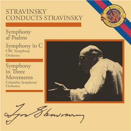 Igor Strawinsky (1882-1971) & Igor Strawinsky (1882-1971) - Strawinsky Conducts Stravinsky: Symphony In Three Movements (Music On CD 2018)